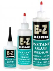 E-Z Bond CA Glue - Medium (100 CPS)