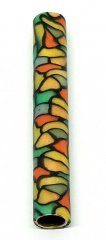 Melanie's Polymer Clay Pen Blank - Stained Glass