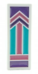 EP Segmented Pen Blank - Purple Pink & Teal