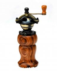 Vintage Style Peppermill Kit - Antique Brass Finish