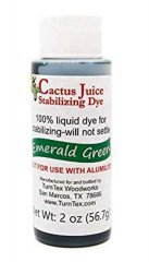 Cactus Juice Stabilizing Dye - Emerald Green 2oz