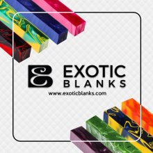 ExoticBlanks Pen Blank Sticker