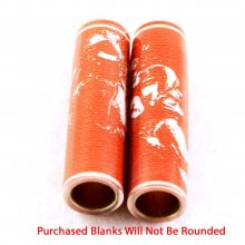 Football Pen Blank #03 - Orange & White.