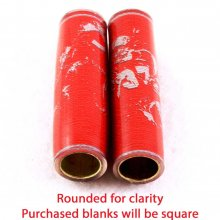 Football Pen Blank #03 - Red & Grey. View 1