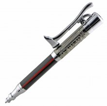 Fireman's Ballpoint Pen Kit - Chrome & Gunmetal