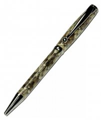Fancy Slimline Pen Kit - Gun Metal