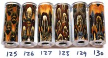 Pheasant Feather Pen Blanks - Sierra Pen Kits #125-130B