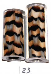 John's Chukar Feather Pen Blanks - Jr II Series Pen Kits #23