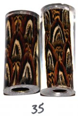 John's Pheasant Feather Pen Blanks - Jr II Series Pen Kits #35