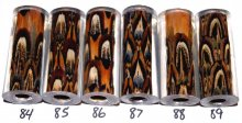 John's Pheasant Feather Pen Blanks - Sierra Pen Kit #84-89
