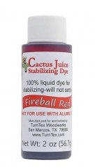 Cactus Juice Stabilizing Dye - Fireball Red 2oz