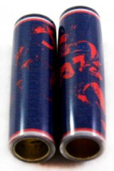 Football Pen Blank #10 - Dark Blue & Red