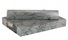 Grey Marble Faux-Stone Pen Blanks