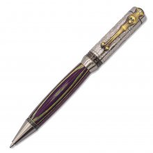 Ghost Twist Ballpoint Pen Kit - Antique Silver & Antique Bronze