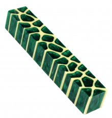 Giraffe Pen Blanks - Emerald Green