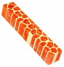Giraffe Pen Blanks - Creamsicle