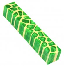 Giraffe Pen Blanks - Slime Green