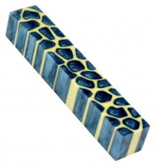 Giraffe Pen Blanks - Steel Blue