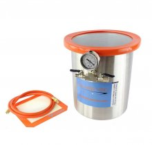 Glass Vac 3 Gallon Stainless Steel Vacuum Chamber