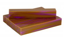 Strata Gem Acrylic Pen Blank - Tapestry Gold