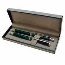 Velvet Pen Box - Grey