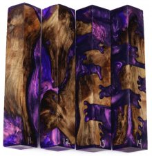 Jumbo Dogwood Hybrid Pen Blanks #11-14EE - Stabilized