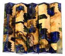 Box Elder Burl Hybrid Pen Blanks #61-65CC