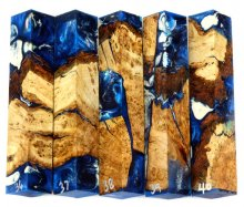 Cherry Burl Hybrid Pen Blanks #36-40PP