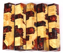 Box Elder Burl Hybrid Pen Blanks #51-55BB