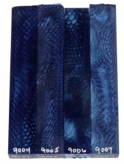 Juma Pen Blanks - Blue Snake #9004-9007