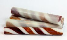 Sassy Stripes Blank - Red Gold & White