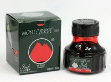 Monteverde Bottled Fountain Pen Ink - Red