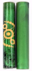 Crop Circle Rotacrylic pen blank
