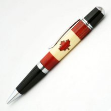Canadian Flag Inlay Kit - Sierra Pen Kits