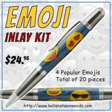 Emoji Inlay Kit - Sierra/Virage