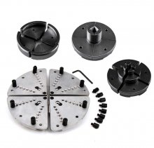 Insta-Change Jaw Chuck 4 Piece Accessory Jaw Set