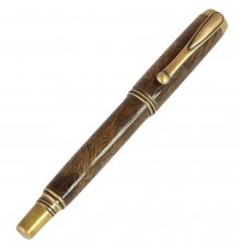 Jr. George Fountain Pen Kit - Antique Brass