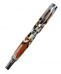 Jr. Citizen Rollerball Pen Kit - Chrome