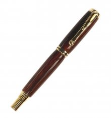 Jr. George Rollerball Pen Kit - Gold Titanium