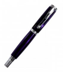Jr. Milton Rollerball Pen Kit - Chrome
