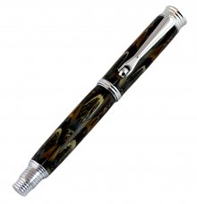 Jr. Morgan Fountain Pen Kit - Chrome
