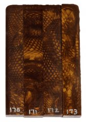 Juma Pen Blanks - Golden Dragon #170-173