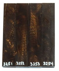Juma Pen Blanks - Golden Dragon #3251-3254