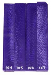 Juma Pen Blanks - Purple Dragon #104-107