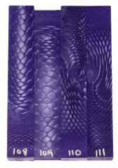 Juma Pen Blanks - Purple Dragon #108-111