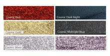 Kirinite Cosmic Glitter Pen Blanks - 6 Blank Assortment Pack