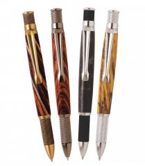 Knurl GT Twist Pen Kit Starter Set - 4 Pen Set
