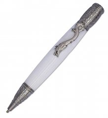 Kunlun Dragon Ballpoint Pen Kit - Antique Nickel