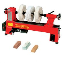 Three Step Lathe Buffing System
