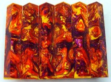 Lava Explosion Pen Blanks #14 - Inferno